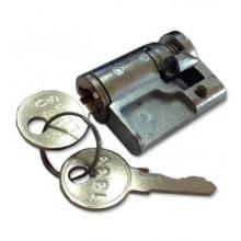 Vložka do zámku na plochý vroubkovaný klíč