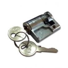 Vložka do zámku na plochý vroubkovaný klíč (typ FAB)
