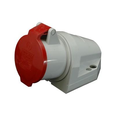 Zásuvka IZS 3243 typ 1373 400V/32A/4-pól IP44