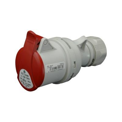 Zásuvka ISN 3253 400V/32A/5-pól IP44