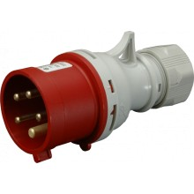 Vidlica IVN 3253 400V/32A/5-pól IP44