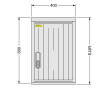 SFOS EJ2R - elektroměrový jednofázový/dvoutarifní rozvaděč (E-ON, ČEZ)