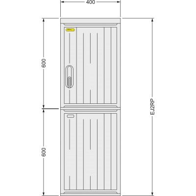 SFOS EJ2RP dvoutarifní elektroměrový rozvadeč (E-ON, ČEZ)