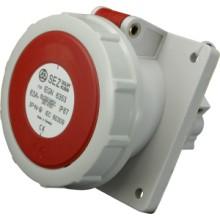 Zásuvka vestavěná IEGN 6353/63A/400V/5P/IP67