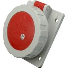 Zásuvka vestavěná IEG 1653 16A/400V/5P/IP67