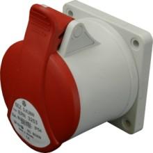 Zásuvka vestavěná IERN 1643 16A/400V/4P/IP54