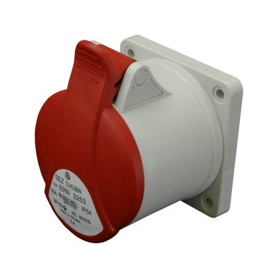 Zásuvka vstavaná IERN 1643 16A/400V/4P/IP54