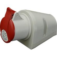Zásuvka nástěnná IZN 1653 typ 1 400V/16A/5-pól IP44