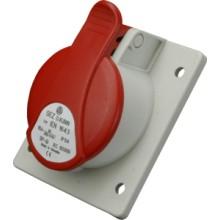 Zásuvka vestavěná IEN 1653 400V/16A/5-pól IP54
